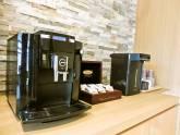 ラウンジにコーヒーマシン設置しました