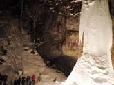 山彦の滝ナイトツアー開催